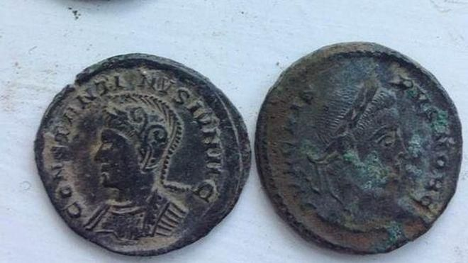 roman coin finds in britain