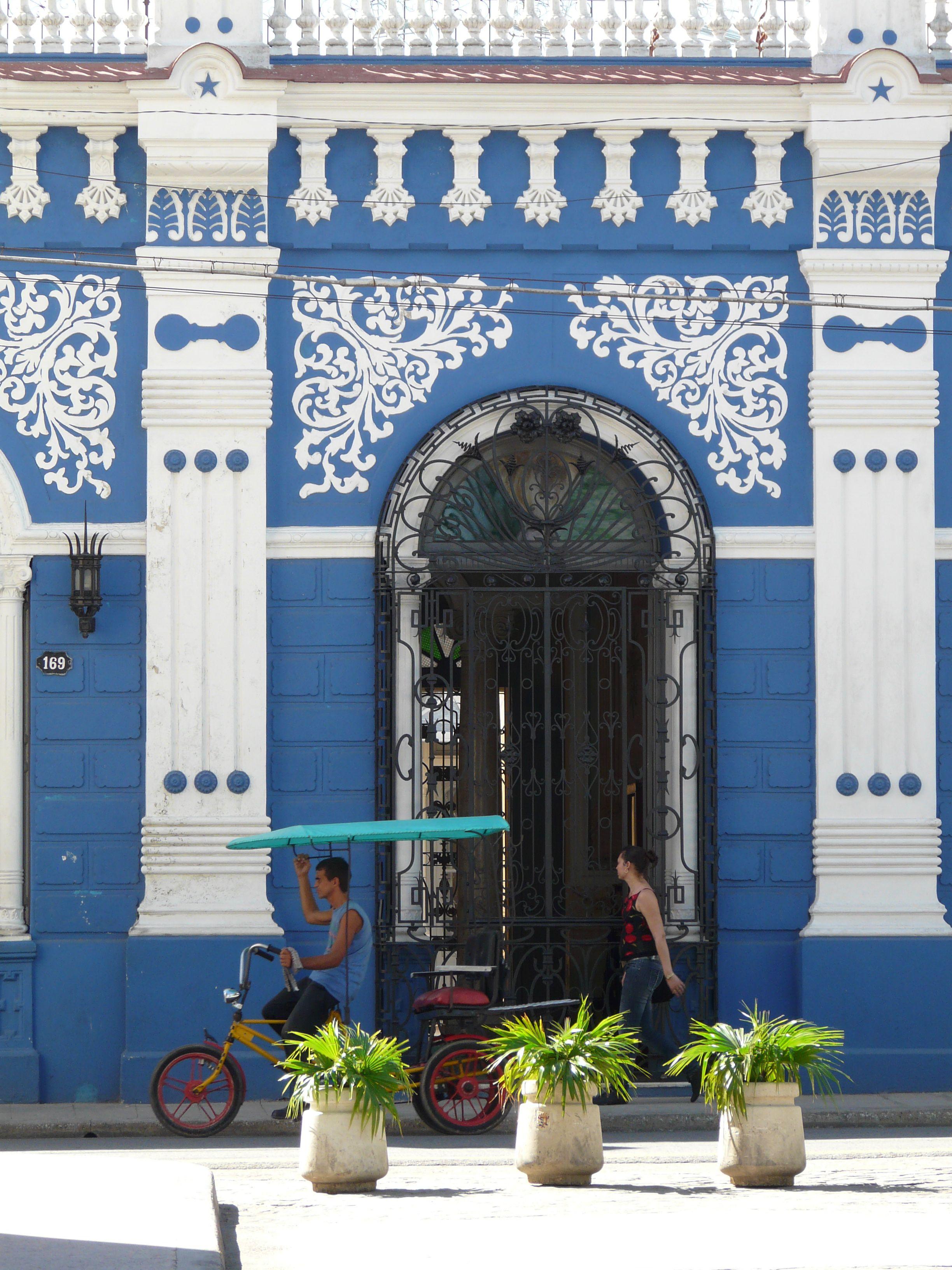 Camaguey Cuba, Beautiful Art Nouveau Architecture Cuba