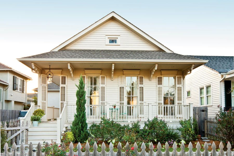 New Orleans Cottage Revival Cottage Exterior House Exterior Southern Living House Plans