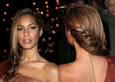 Peinados para vestidos al hombro