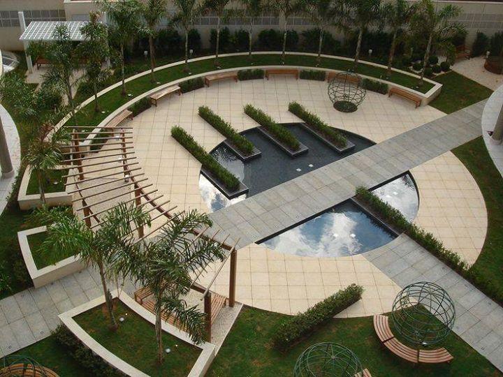 landscape ideas radial curvilinear | Landscape architecture ...