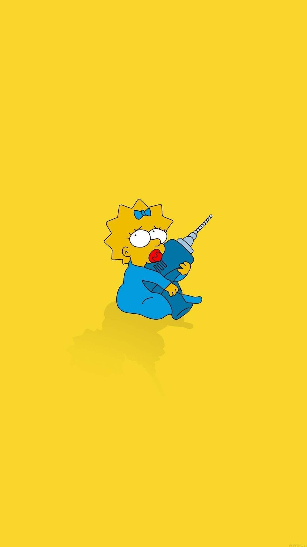 Download Mega Collection Of Cool Iphone Wallpapers Cartoon Cartoon Os Simpsons Wallpaper De Desenhos Animados