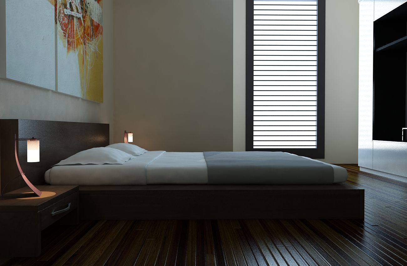 Luxurious Modern Bedroom Interior Design Decoration Lighting Ideas