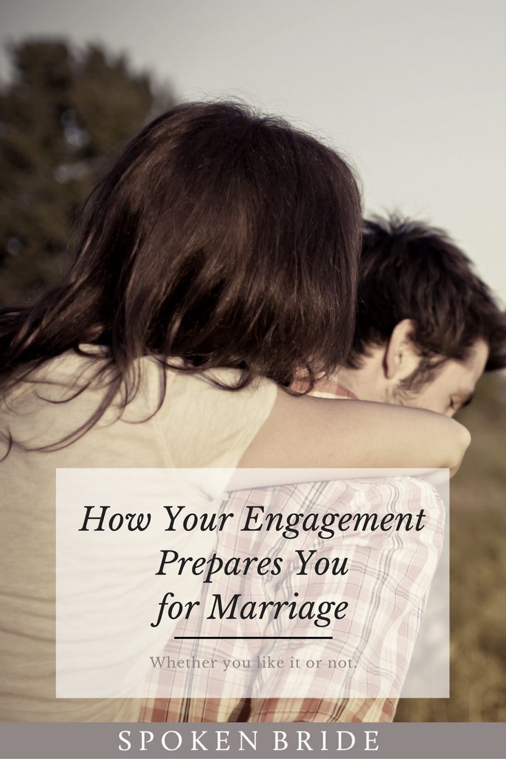 engagement to marriage period