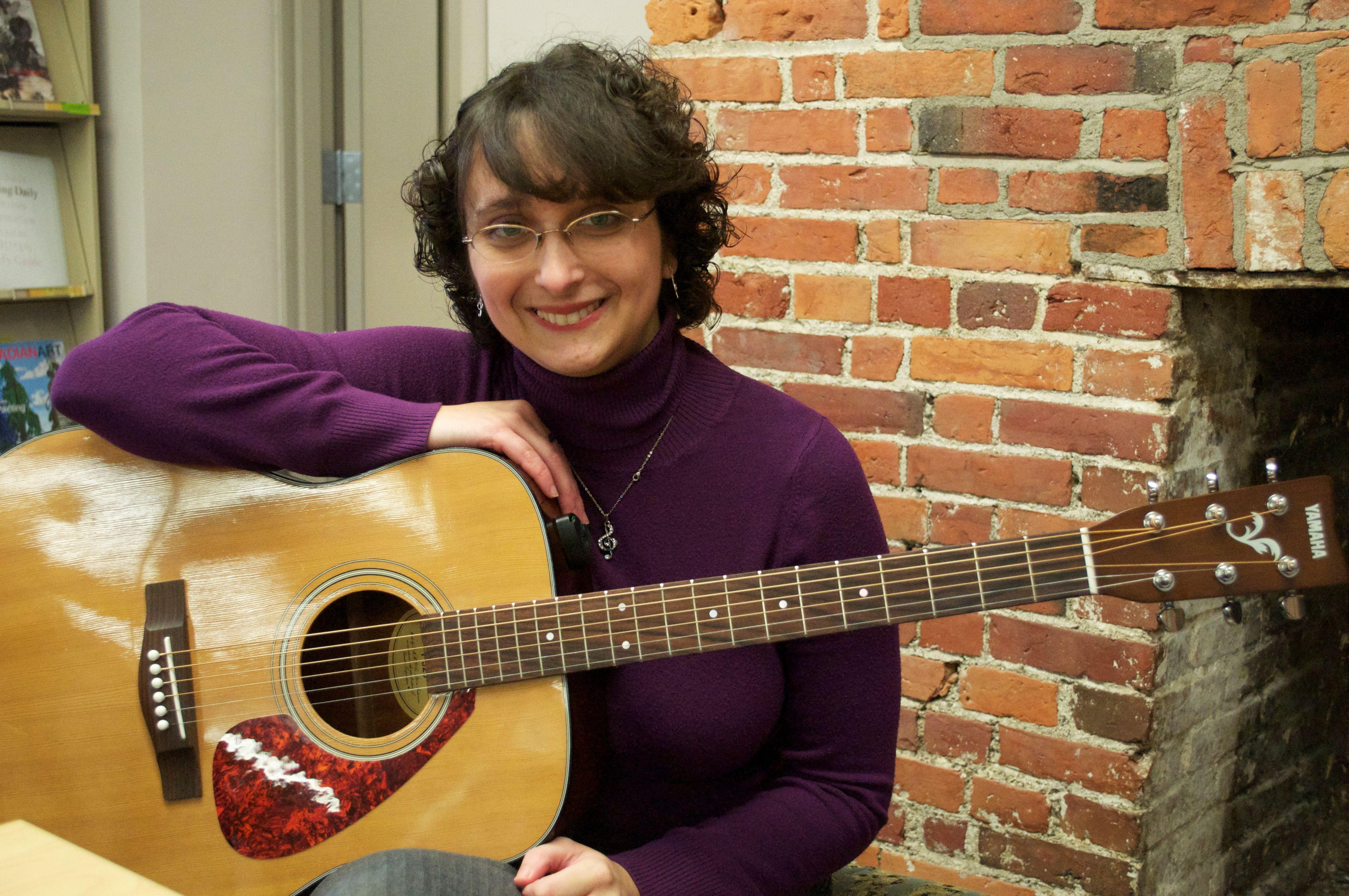 Music Therapist Kimberly Arsenault BMT MTA BA Psyc