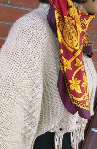 OGO Geral Paris sweater & Art of Silk Scarf 1. Sweater Brand: OGO ...