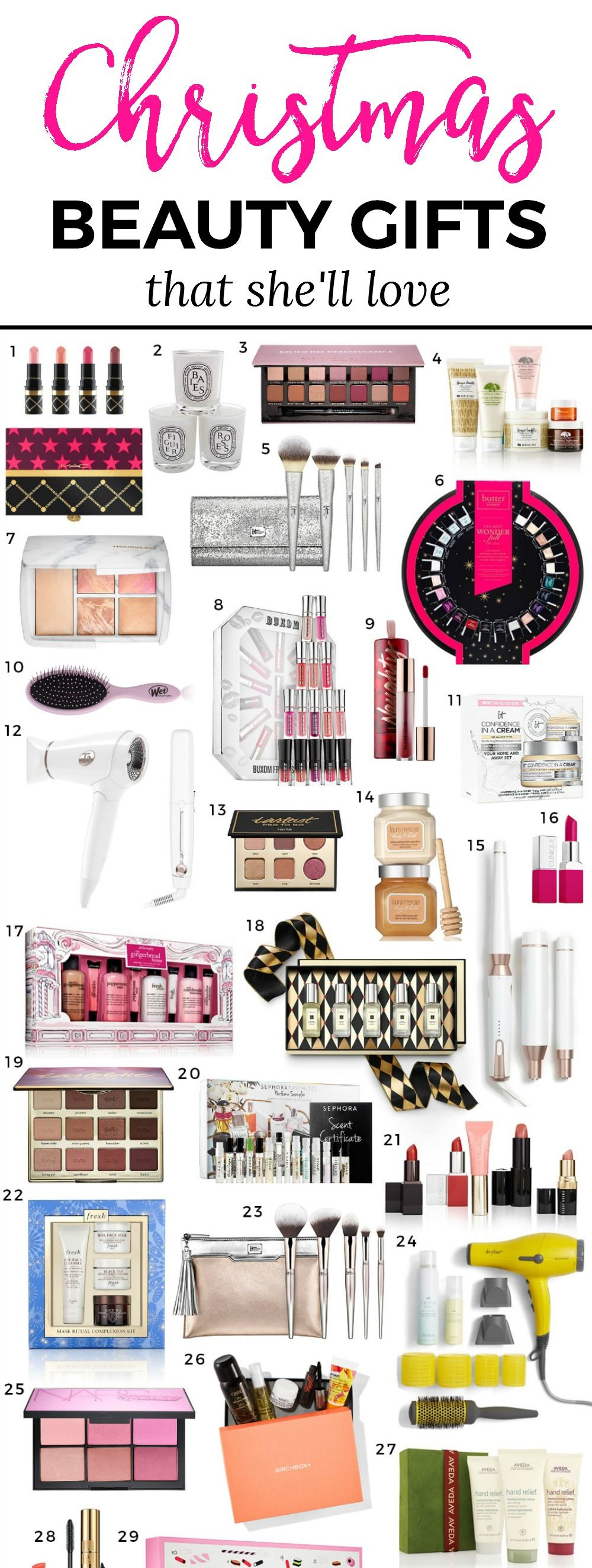 The Best Christmas Gifts for Beauty Lovers   face   Pinterest ...