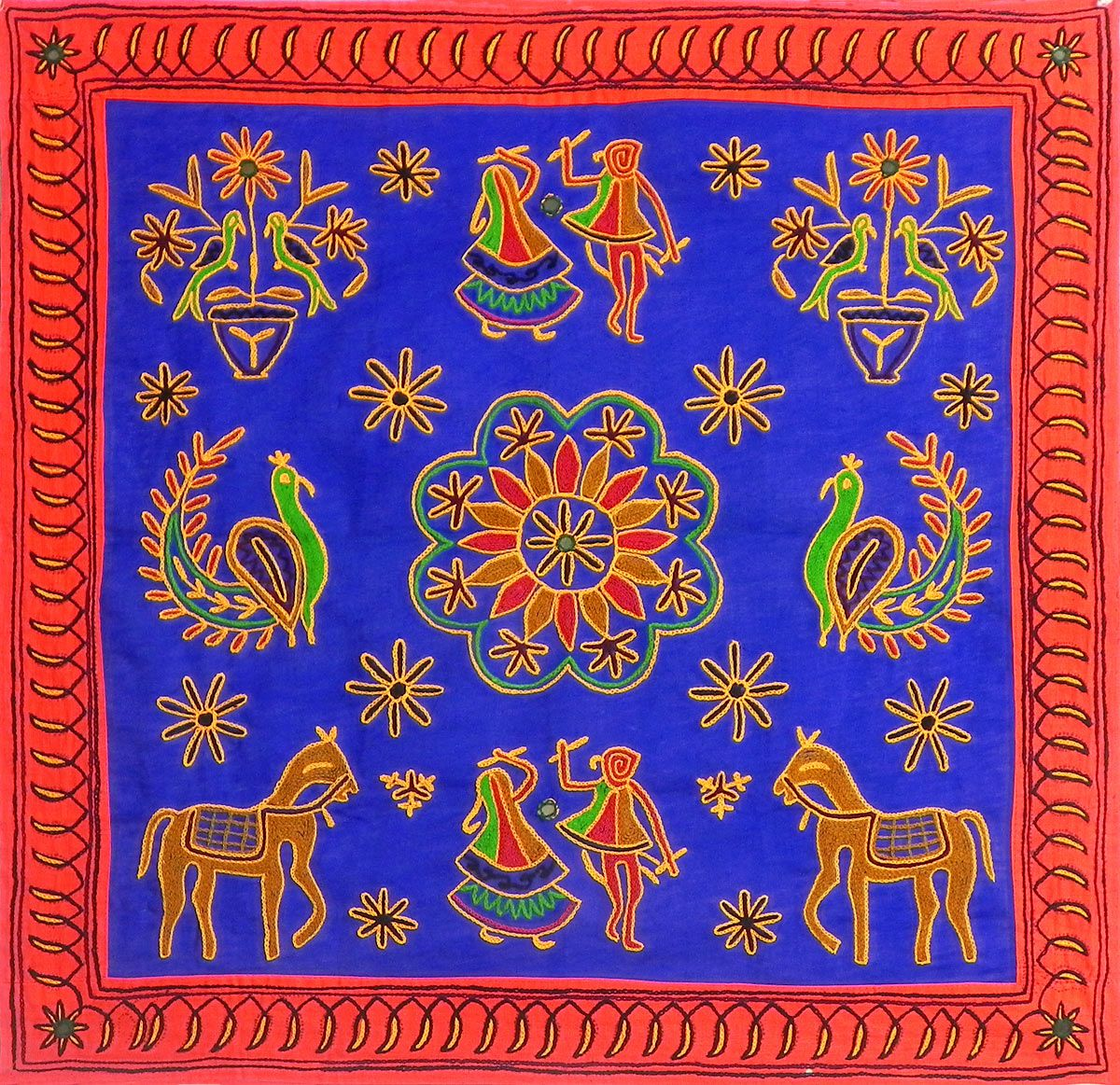 Cloth Wall Hangings cloth tapestries images | cloth tapestry | pinterest | rangoli