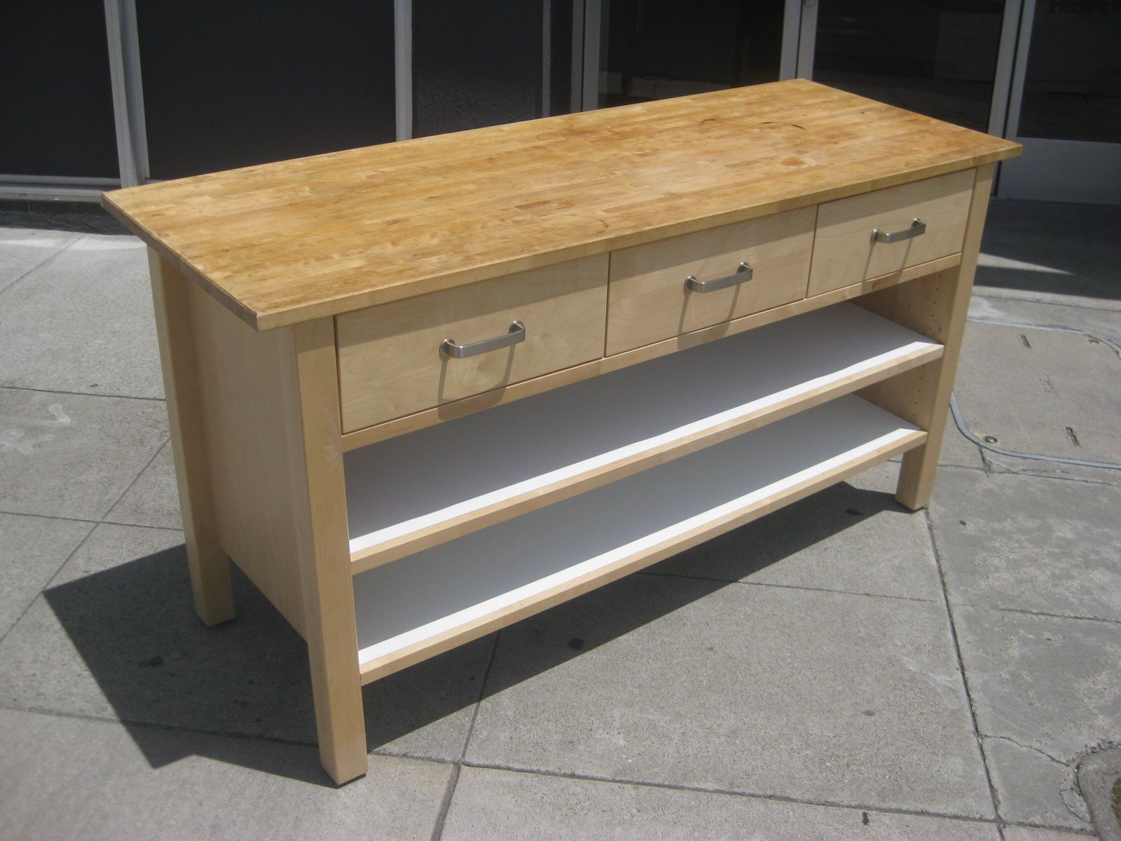 Dresser Into A Counter Sold Ikea Butcher Block 195