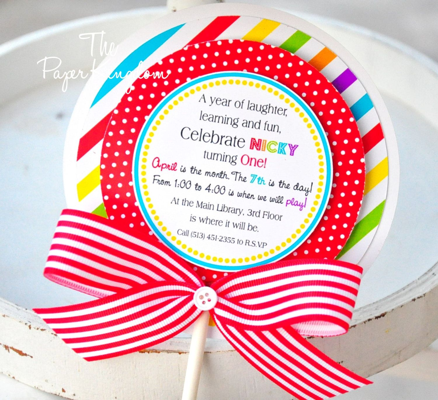 candyland invitations google search