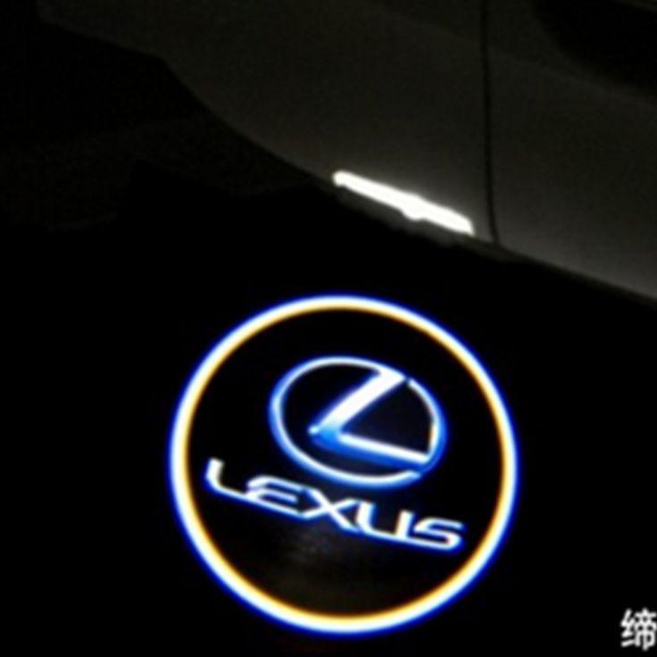 Car LED door light ghost shadow welcome light logo projector emblem For LEXUS & Nice Lexus: $8.40 (Buy here: alitems.com/... ) LED Car door Welcome ...