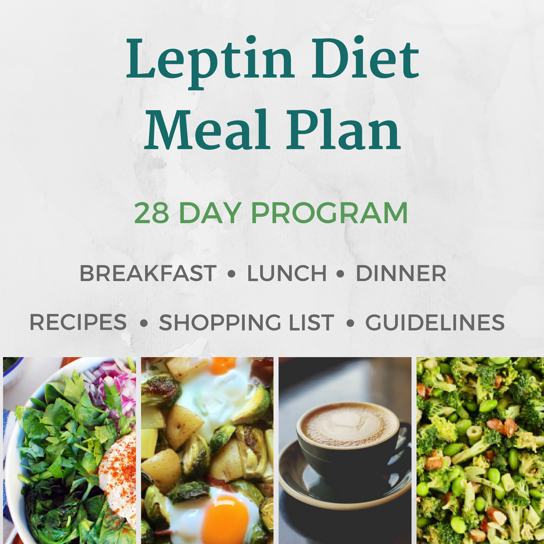 leptin reset diet menu