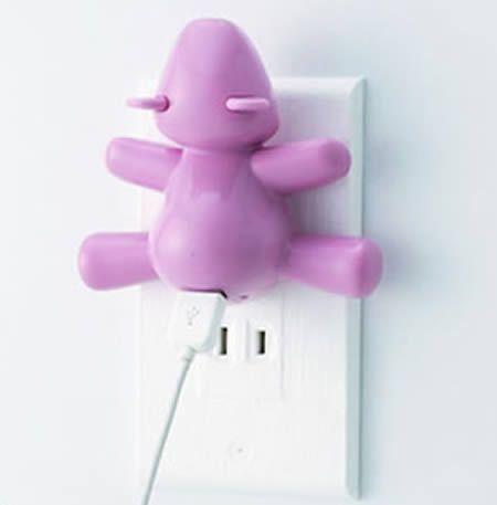 Kawaii Bear iPod Charger