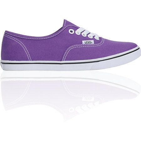 Vans Girls Authentic Lo Pro Amaranth Purple Shoe  $44.95