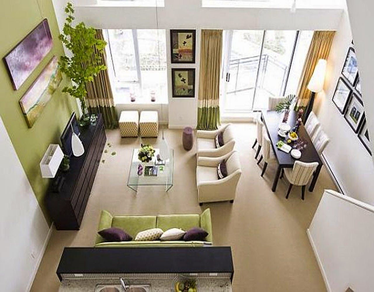 Extraordinary Inspiring L Shaped Living Room Ideas Together With