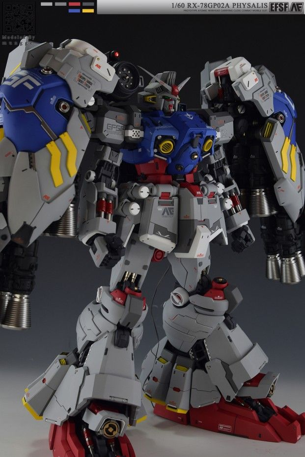 POINTNET.COM.HK - 1/60 G-System Gundam GP02A Physalis
