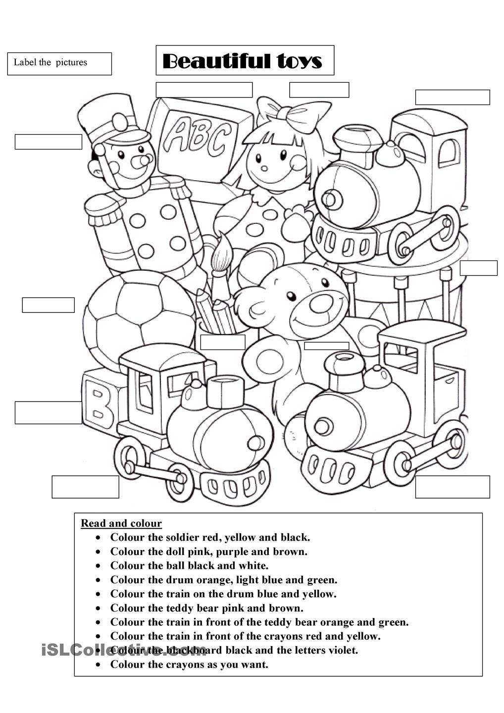 Beautiful toys | Beautiful toys, English worksheets for kids, Teaching toy