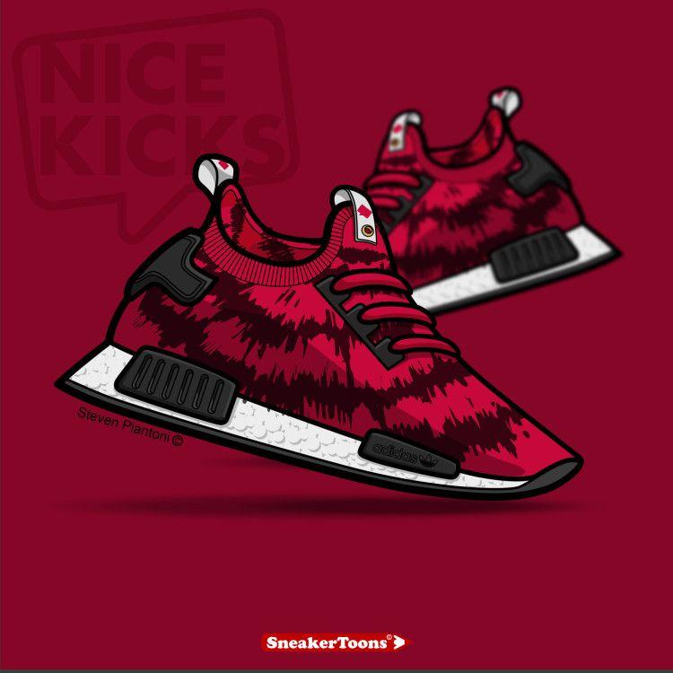 e9c6d15b0149c Nice Kicks x Adidas NMD Runner PK  sneakerart by  sneakertoons ...