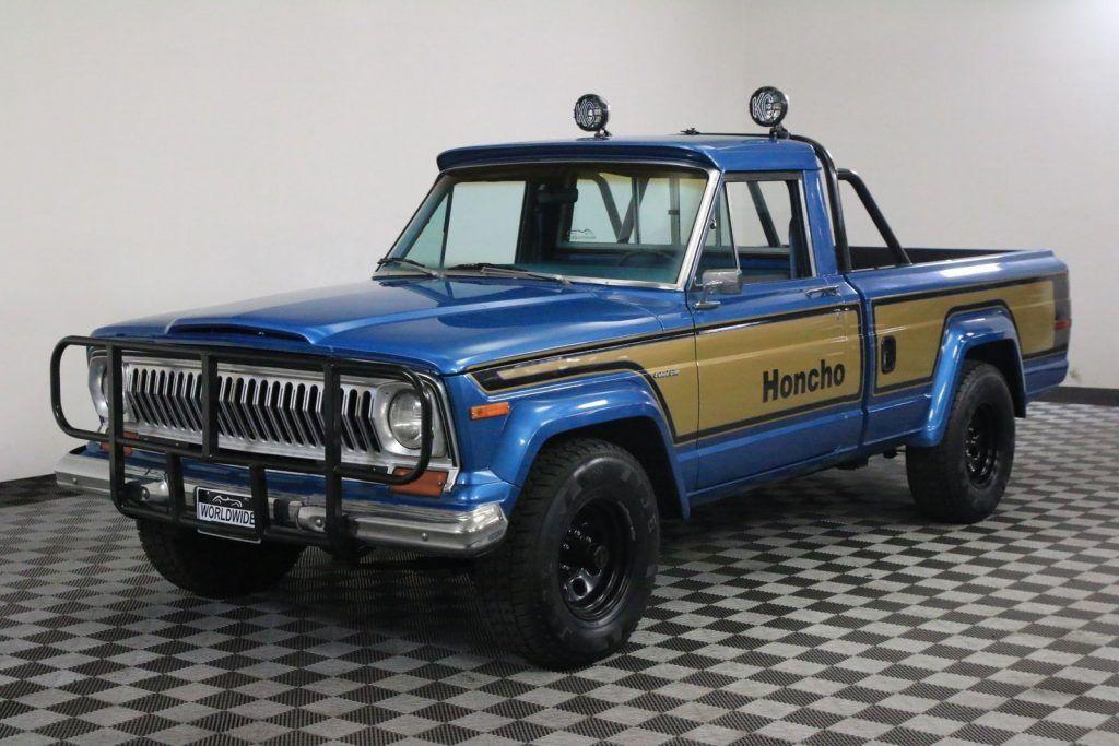 1978 Jeep J10 Honcho Gladiator Restored Rare Jeep Gladiator For Sale Jeep Jeep Wagoneer