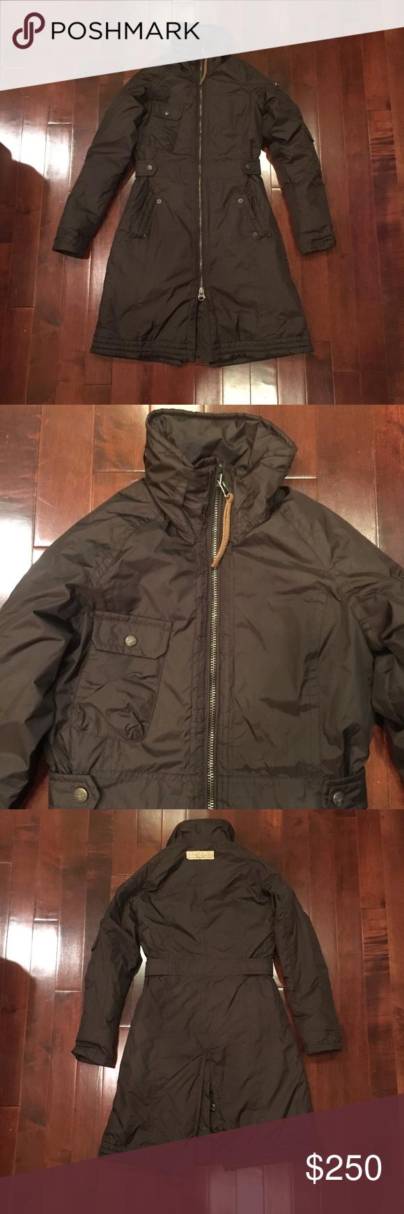 Women S Napapijri Brown Long Winter Puffer Jacket Jackets Winter Puffer Jackets Long Winter [ 1740 x 580 Pixel ]