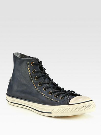 converse all star leather uomo
