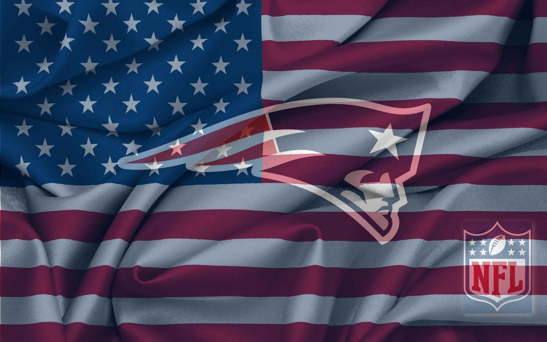 New England Patriots Images New England Patriots Logo With Nfl Logo On Usa Flag New England Patriots Logo New England Patriots Wallpaper New England Patriots