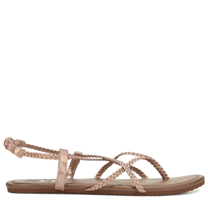 93ad25eb0 Billabong Women s Crossing Over Sandals (Rose Gold) - 10.0 M