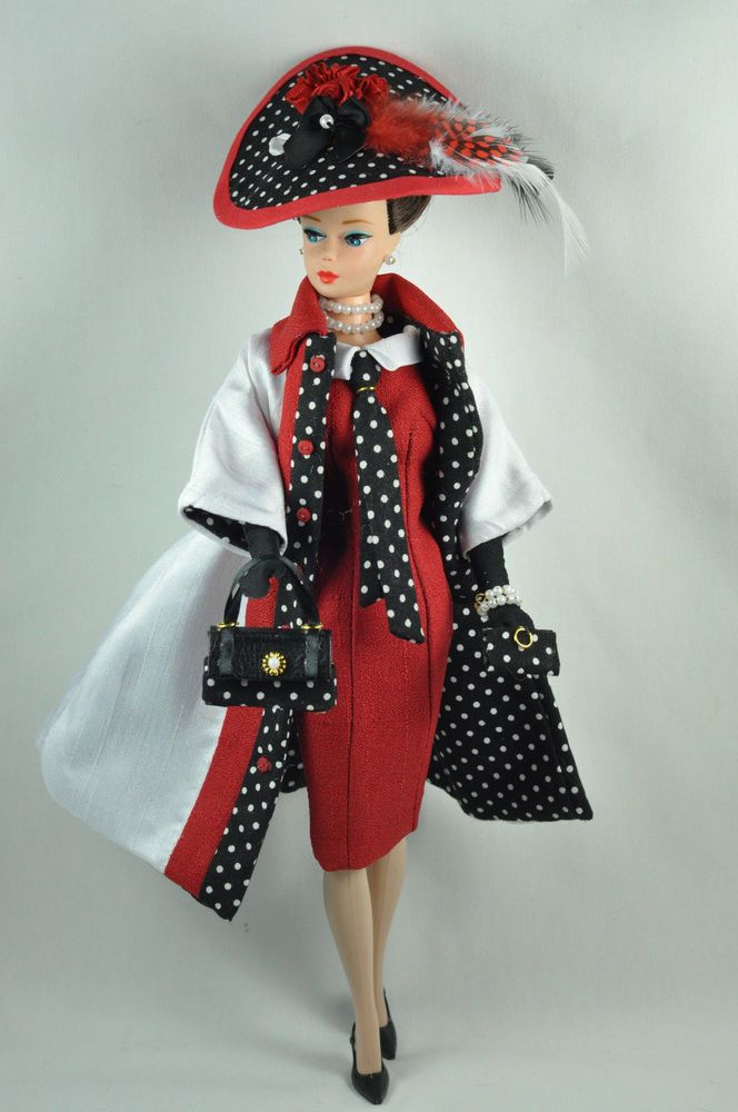 Handmade Vintage Barbie/Silkstone Fashion by P.Linden 12 pc. Holiday in Milan  #FITSVINTAGEREPRODUCTIONSANDSILKSTONEBARBIE