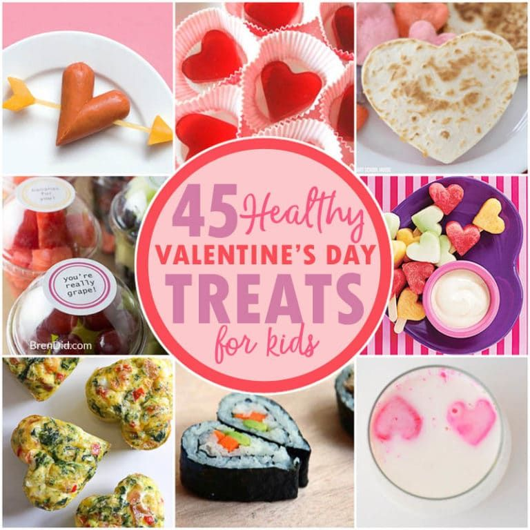 45 Healthy Valentine\'s Day Treats For Kids That Will Delight Your ...
