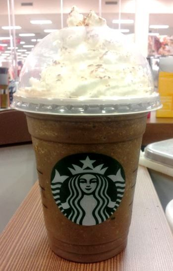 Starbucks Chocolate Frosty Frappuccino