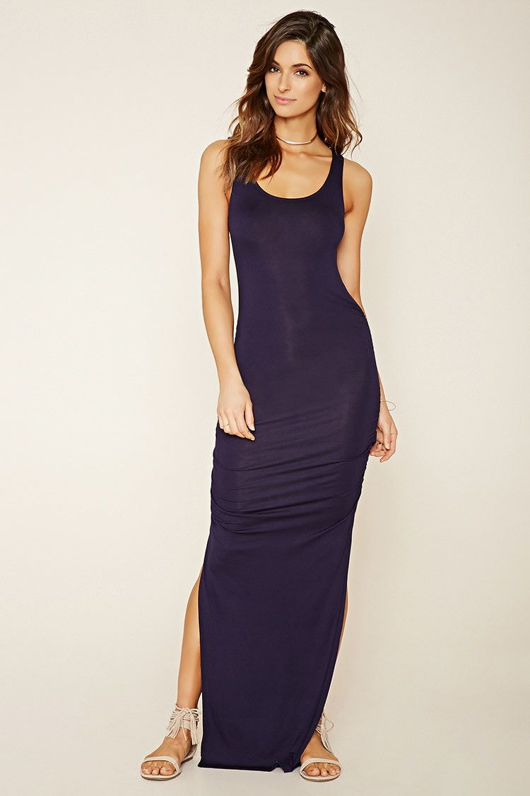 1db1af7c6977 Contemporary Ruched Maxi Dress