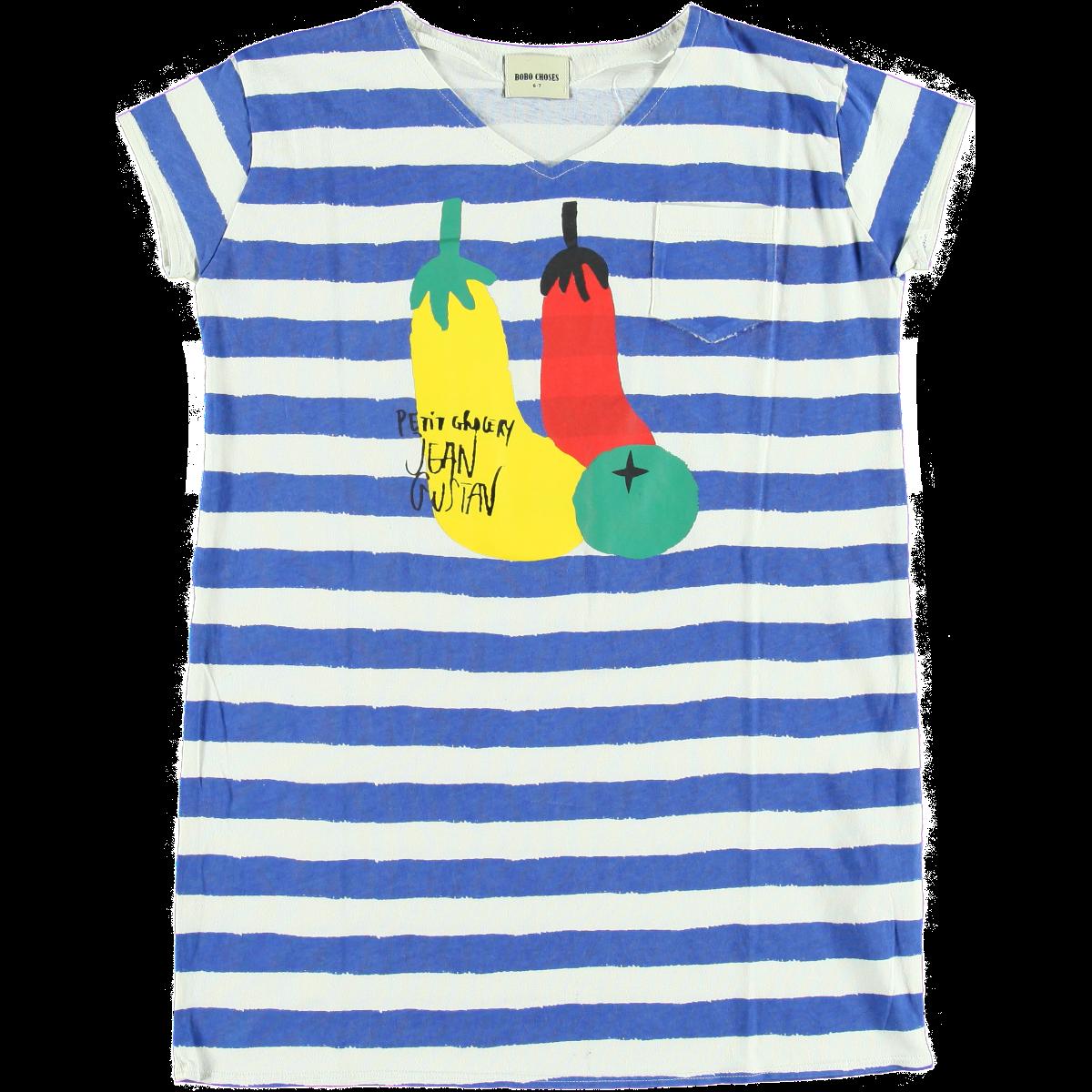 Jurk Stripes And Veggies Bobo Choses Daan En Lotje Https Daanenlotje Com Kids Meisjes Bobo Choses Jurk Stripes And Veggies 001421