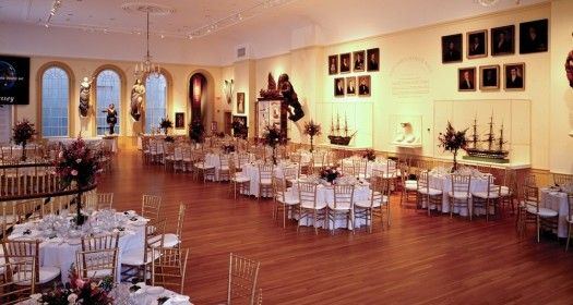 wedding in east india marine hall at the peabody essex museum salem ma