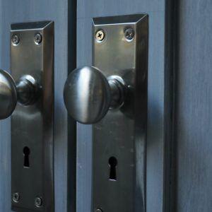 Beautiful Door Knob With Escutcheon Plate
