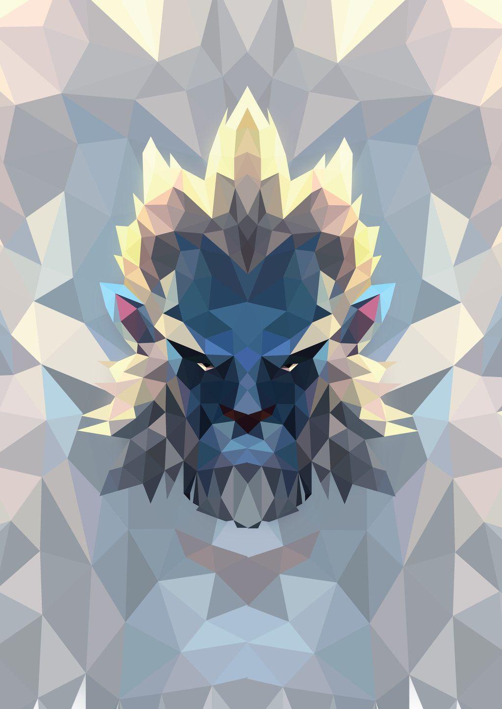 Phantom Lancer From DotA2 Low Poly Artwork By Cutelitisdeviantart On DeviantArt