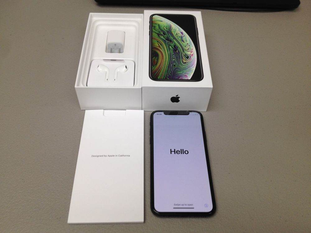 Apple Iphone Xs 64gb Space Gray At T Smartphone Clean Esn Mint Iphone Xs Iphonexs Apple Iphone Iphone Unlocked Cell Phones