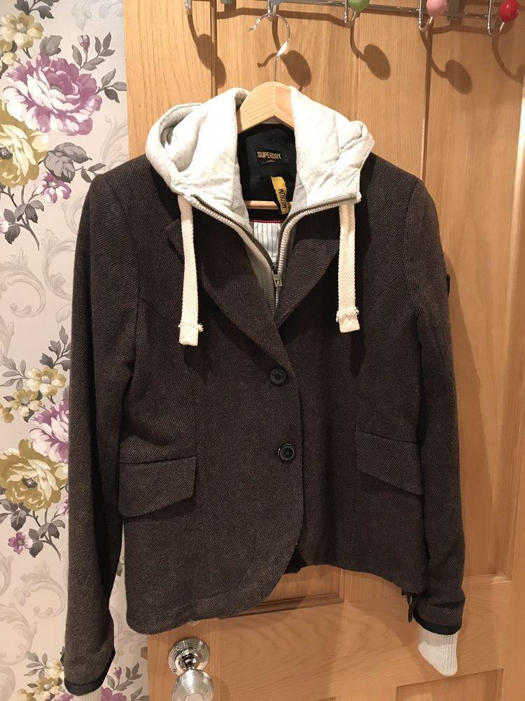 8195584fdb24f Superdry Hooded Smart Blazer Size Meduim  fashion  clothing  shoes   accessories  womensclothing  coatsjacketsvests (ebay link)