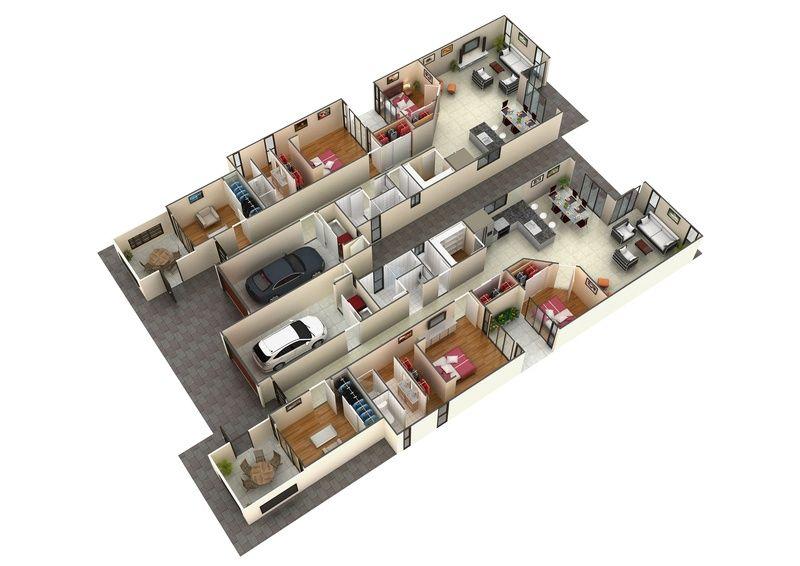 3d Gallery Artist Impressions 3d Architectural Visualisation 3d Architectural Rendering 3d Render Modern Floor Plans Basement Floor Plans Duplex Design