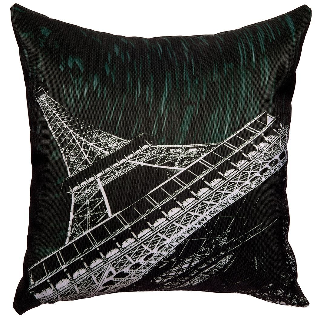 Starry Night Paris Throw Pillow