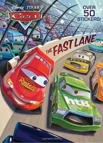 The Fast Lane Disney Pixar Cars Super Coloring Book