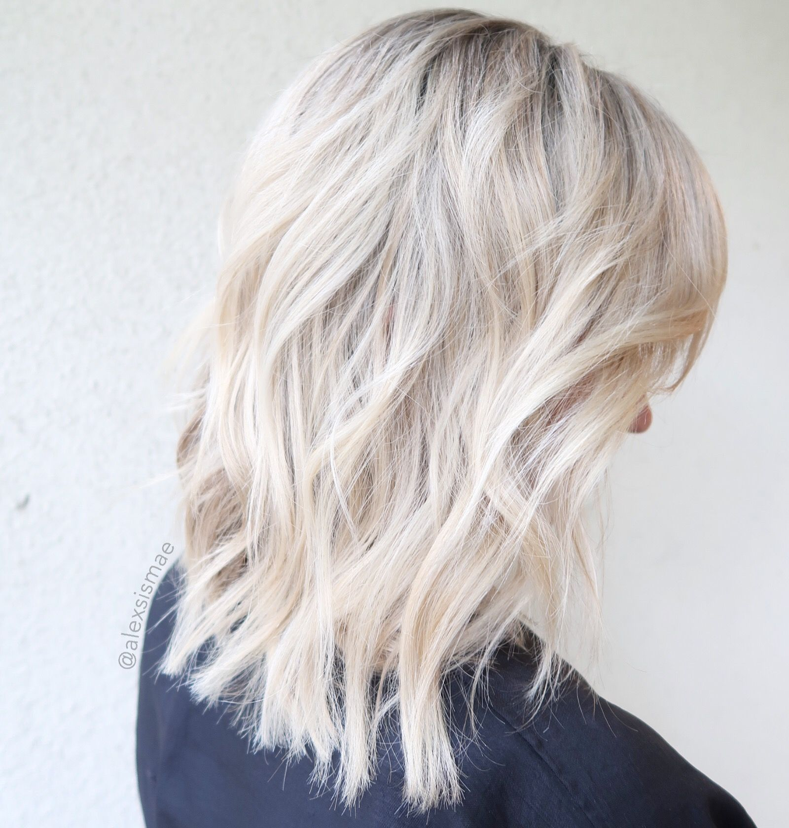 Pearl Ice Blonde Hair Color Ice Blonde Hair Cool Blonde Hair Colour