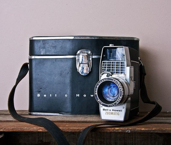 Vintage Movie Camera Bell & Howell Director Series by MollyFinds, $95.00