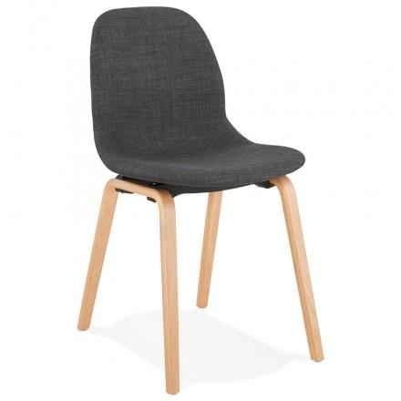 Qualite Et Petit Prix Pour Cette Magnifique Chaise Scandinave En Tissu En 2020 Chaise De Salle A Manger Tissu Gris Chaise Design