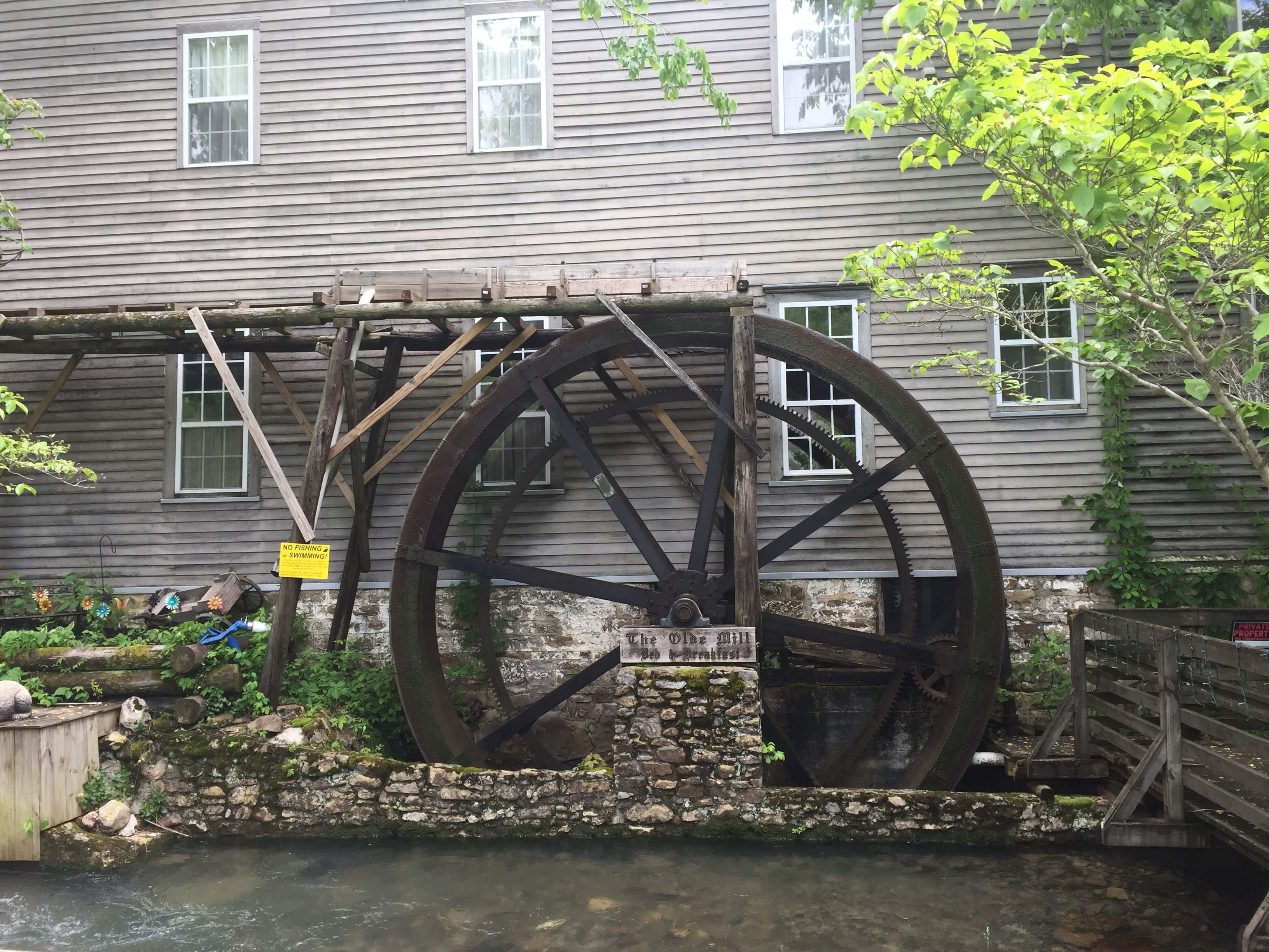 Old Mill at Historic Cumberland Gap. Join us for the Art