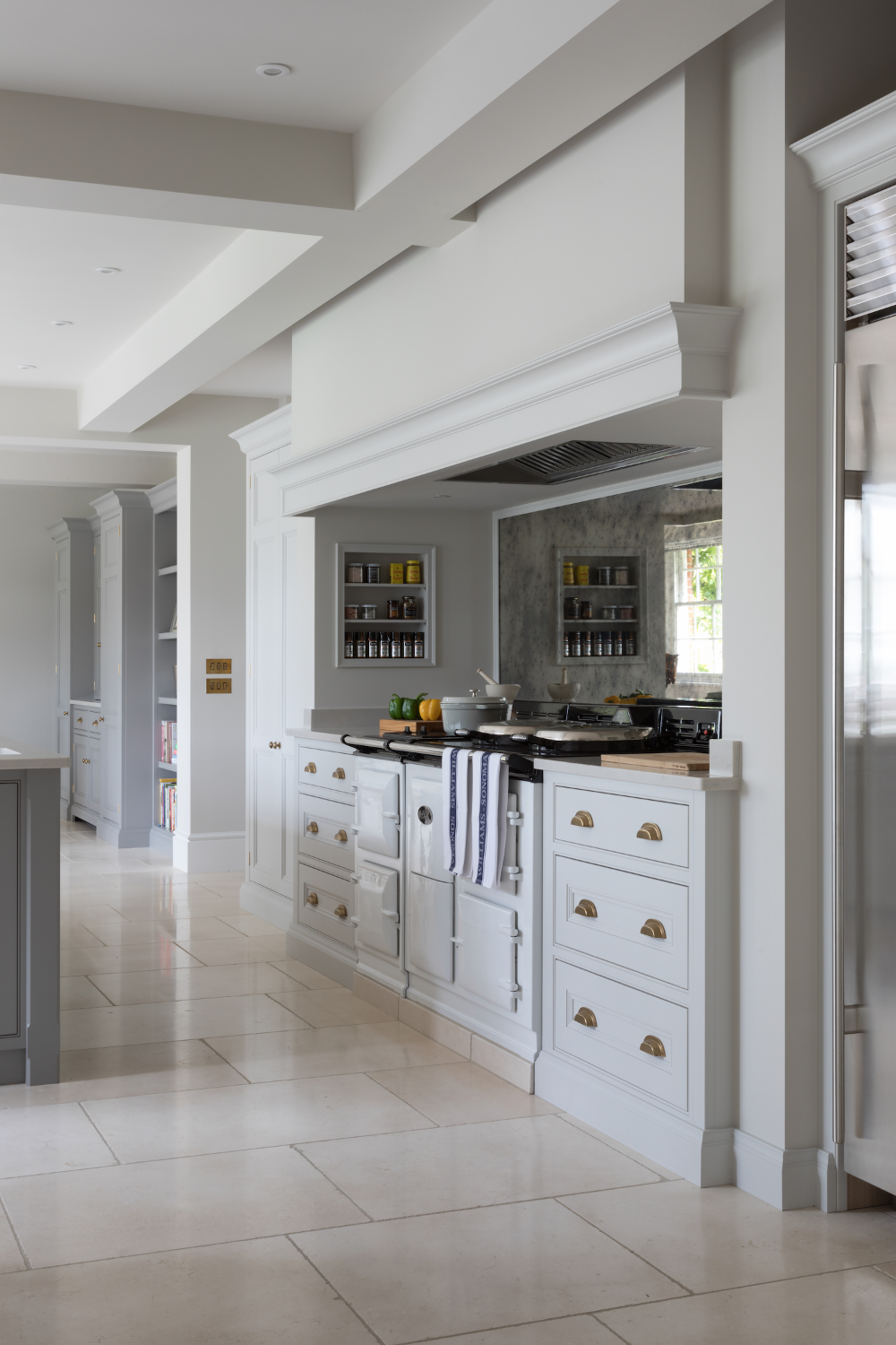 Cranbrook Project Country Kitchen Lacanche range