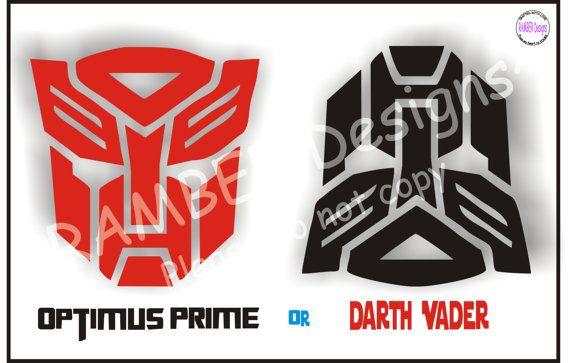 Custom Kids Placemats Transformers & Star Wars by RAMBERDesigns, $11.50    @Alisha Merkt