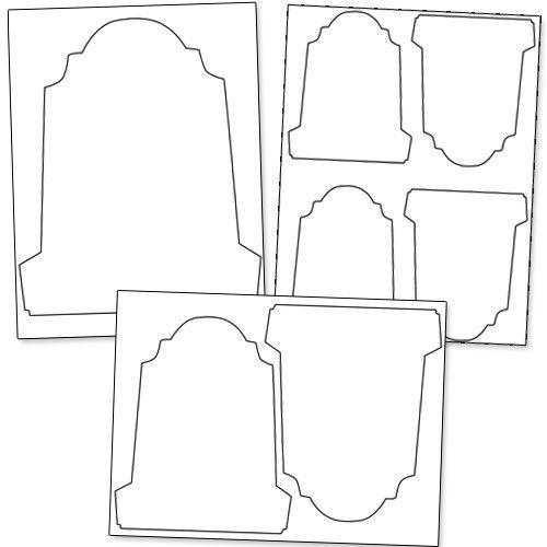 printable gravestone template from printabletreats com