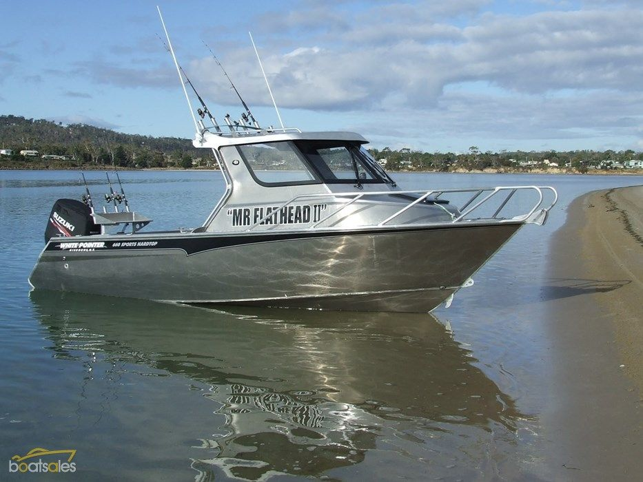 White pointer 660 sports hardtop fishing pinterest for Small used fishing boats for sale