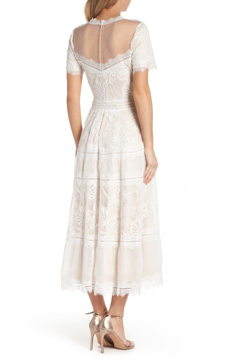 S S Lace Tea Length Drs Nordstrom Lace Tea Length Dress Dresses Nordstrom Dresses [ 1164 x 760 Pixel ]