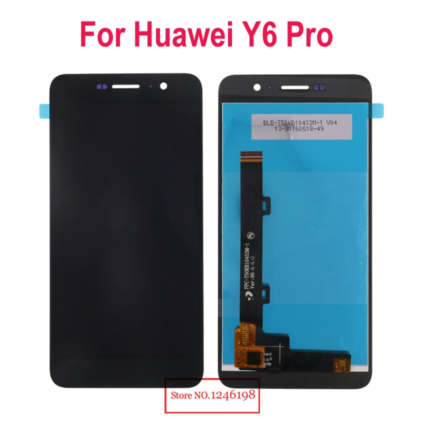 """27.19$  Buy here - http://aliifz.shopchina.info/go.php?t=32750814553 - """"Black/White/Gold  5.0"""""""" Full LCD Display Touch Screen Digitizer Assembly For Huawei Y6 Pro TIT-U02 Y6Pro TIT-AL00 Repair Parts"""" 27.19$ #magazineonlinebeautiful"""